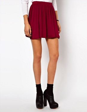Image 4 ofASOS PETITE Skater Skirt