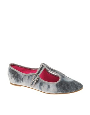 Image 1 ofASOS LAMP POST T-Bar Ballet Flats