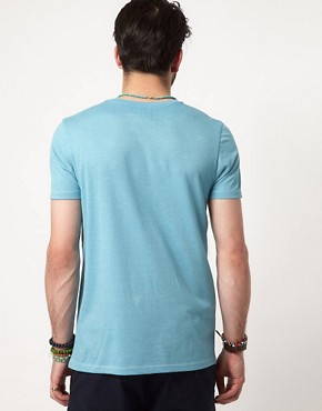 Image 2 ofASOS T-Shirt With Contrast Tape Pocket