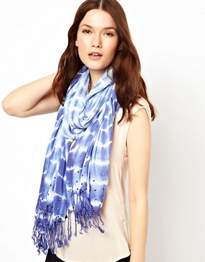 Image 1 ofWarehouse Tie Dye Scarf