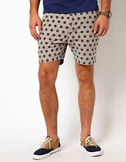 Two Square  Zalous  Shorts