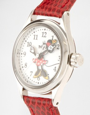 Image 4 ofDisney Leather Strap Watch