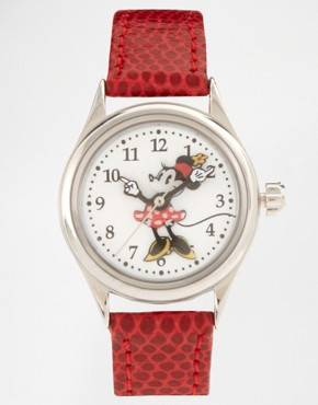 Image 1 ofDisney Leather Strap Watch