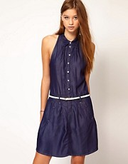 G-Star Denim Button Front Dress