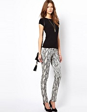 Zadig and Voltaire - Pantaloni stile leggings pitonati