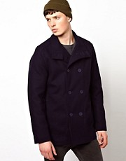Ben Sherman Double Breasted Pea Coat