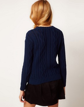 Image 2 of ASOS Aran Jumper