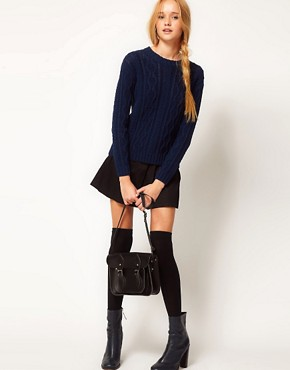 Image 4 ofASOS Aran Jumper