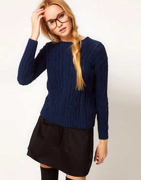 Image 1 ofASOS Aran Jumper