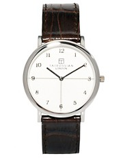 Tateossian Black Watch Rotondo Guilloche