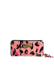 Paul&#39;s Boutique Lizzie Neon Leopard Purse