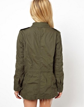 Image 2 ofASOS Four Pocket Utility Parka