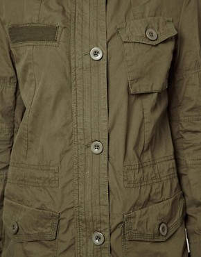 Image 3 ofASOS Four Pocket Utility Parka