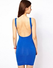 American Apparel Body Con Dress With Scoop Back