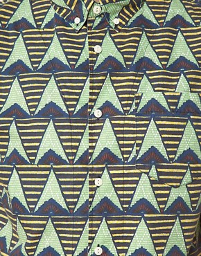 Image 3 ofASOS Shirt With African Wax Inspired Print