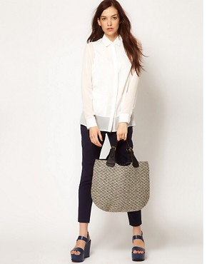 Image 3 ofPieces Bakki Tweed Shopper