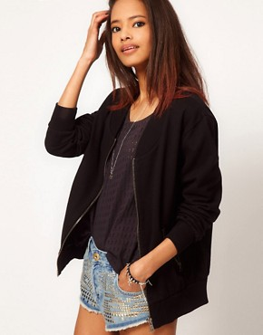 Image 1 ofASOS Sweat Bomber