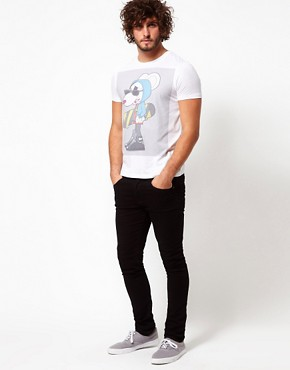 Image 4 ofASOS T-Shirt With Danger Mouse Print