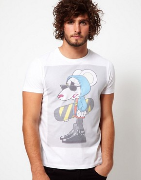 Image 1 ofASOS T-Shirt With Danger Mouse Print