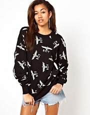 BOY London Print Sweatshirt