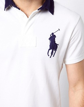 Image 3 ofPolo Ralph Lauren Polo Shirt With Big Polo Player
