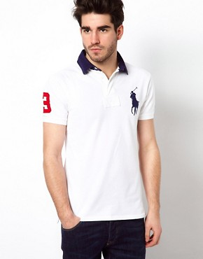 Image 1 ofPolo Ralph Lauren Polo Shirt With Big Polo Player