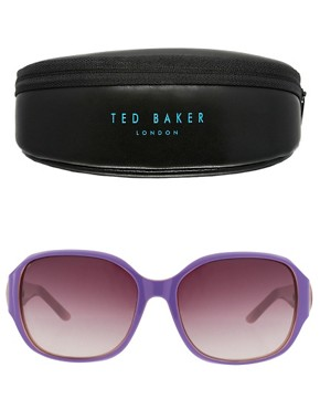 Image 2 ofTed Baker Oversized Beverly Sunglasses