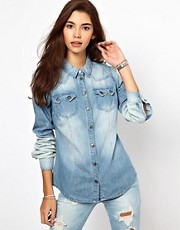 Only Denim Western Shirt