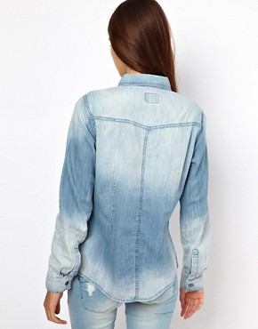 Image 2 ofOnly Denim Western Shirt