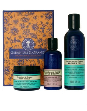 Image 1 of Neal's Yard Remedies Geranium & Orange Shower & Bodycare Collection