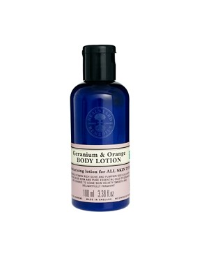 Image 2 of Neal's Yard Remedies Geranium & Orange Shower & Bodycare Collection