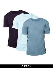 Emporio Armani 3 Pack T-Shirts Fashion