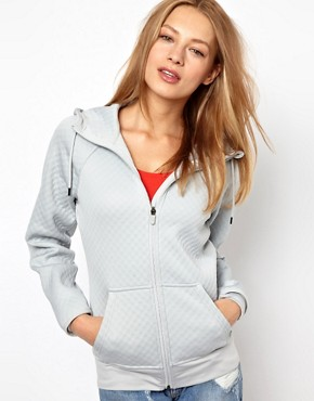 Image 1 ofNike Textured Hoodie With Contrast Lining