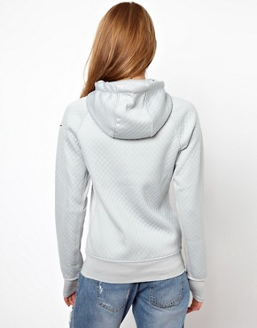 Image 2 ofNike Textured Hoodie With Contrast Lining