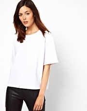 ASOS T-Shirt in Textured Ottoman