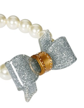 Image 3 ofTed Baker Bow And Pearl Bracelet