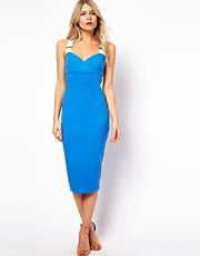 Ted Baker Saphie Jersey Dress in Midi Length