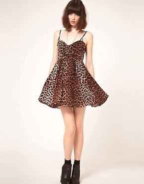 Image 4 ofOne Teaspoon Surrender Leopard Mini Dress