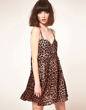 Image 1 ofOne Teaspoon Surrender Leopard Mini Dress