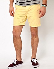 ASOS &ndash; Chinoshorts in Acid-Waschung
