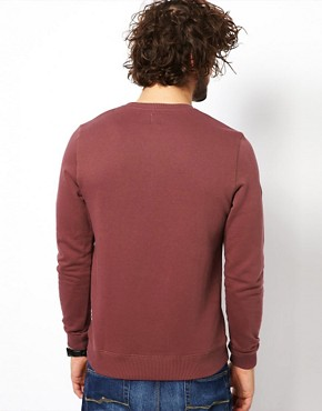 Image 2 of ASOS Sweatshirt With Crew Neck