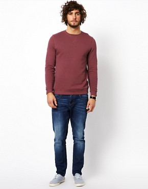 Image 4 ofASOS Sweatshirt With Crew Neck