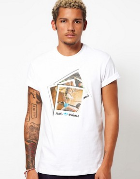 Image 1 ofAdidas Originals Polaroid Girl T-Shirt