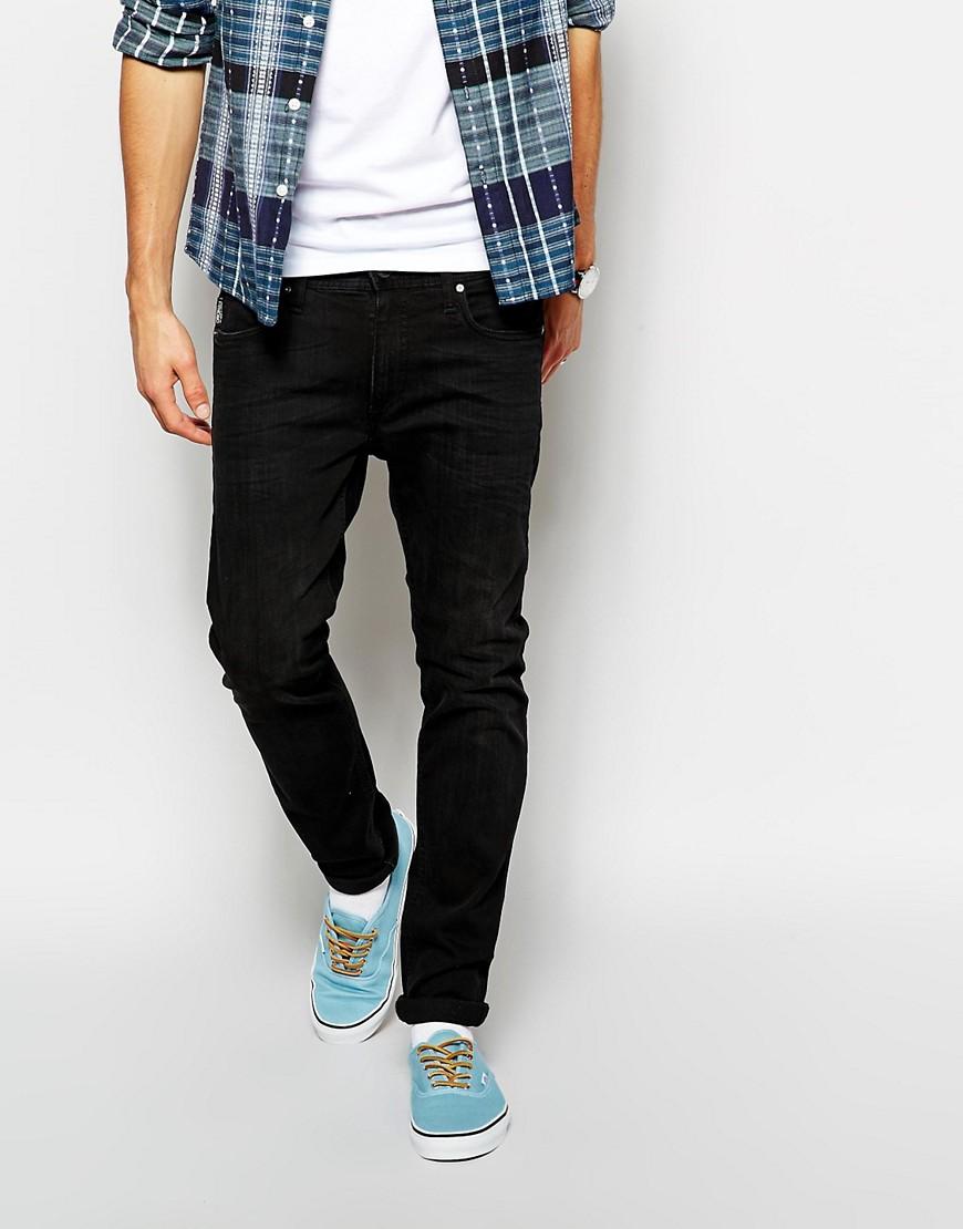Image 1 ofJack & Jones Skinny Jean In Black