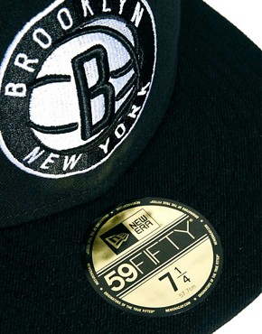 Image 3 ofNew Era 59Fifty Cap Brooklyn Nets