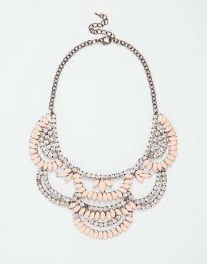 Love Rocks Crystal Layer Necklace