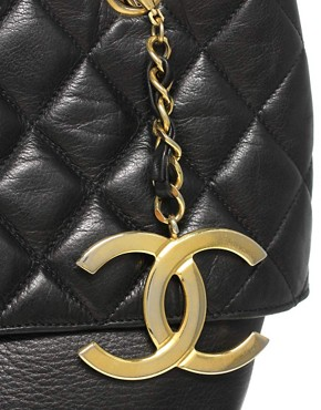 Image 4 ofVintage Chanel Leather Large Weekend Bag