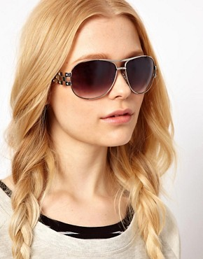 Image 3 ofRiver Island Sienna Aviator Sunglasses