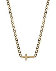 ASOS Cross ID Necklace