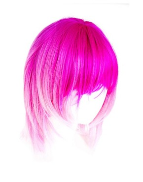 Image 2 ofAnnabelle&#39;s Wigs Pink Dip-Dye Layered Wig